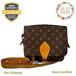 🌻💯 Louis Vuitton Crossbody Bag Cartouchiere PM